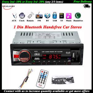 1Din-Bluetooth-Autoradio-Stereo-SD-AUX-Mani-libere-In-dash-WMA-EQ-FM-Lettore-MP3