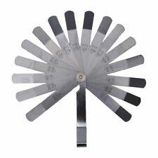 Laser Dual Sided Feeler Offset 26 Blade Gauge Gage Metric 0.127-0.762mm