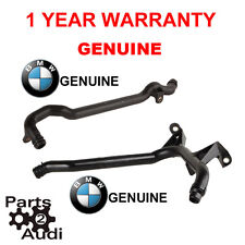 OEM WATER ENGINE HEATER INLET COOLANT PIPE 2PCS FOR BMW E39, E46