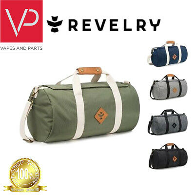 New w//Tags Black Revelry Supply Medium Duffle Bag Water/&Odor Resistant MSRP $150