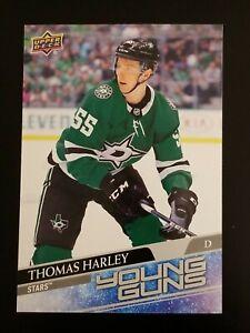 Thomas Harley Young Guns Jumbo Oversized 2020-21 Upper Deck #227 Stars