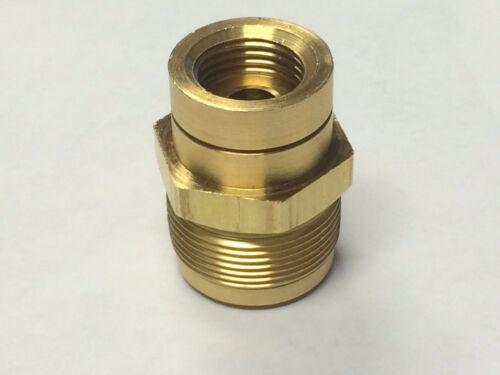 "1 /"" 20 Brass Fuel Inlet Fitting Rochester 7024281 2 /& 4 Barrel Carburetors"