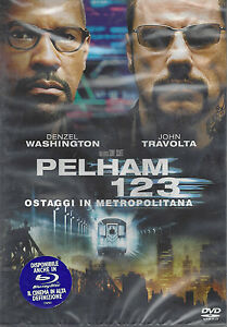 Dvd-PELHAM-123-con-Denzel-Washington-John-Travolta-nuovo-2009