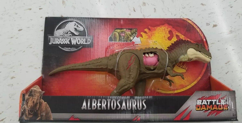 Jurassic welt schaden albertosaurus dino rivalen aldi exklusiv