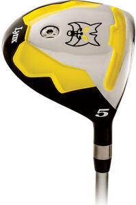 NEW-Lynx-Golf-Predator-Yellow-3-amp-5-Fairway-Wood-Regular-Flex
