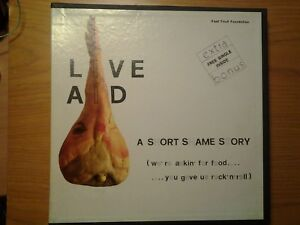 RARE-BOX-11-LP-7-034-Live-Aid-NM-Queen-U2-David-Bowie-Dire-Straits-Sting-Madonna