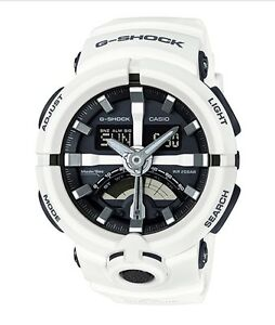 Casio G-Shock *GA500-7A Urban Sports Anadigi White COD PayPal