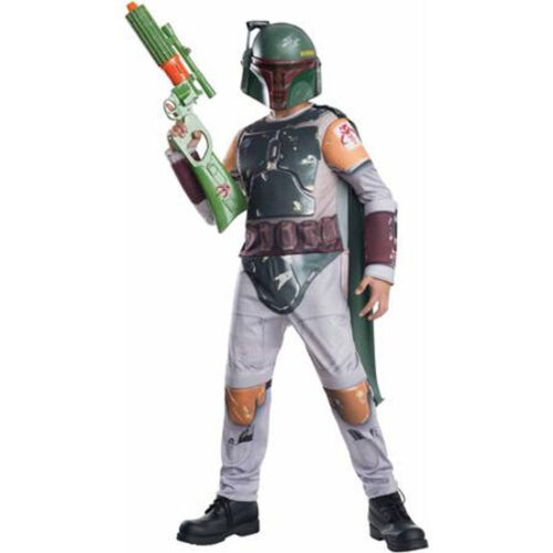 Boba Fett Star Wars Costume Size Small Lot of 7