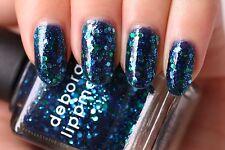 NEW! Deborah Lippmann ACROSS THE UNIVERSE Polish Lacquer full size glam glitter