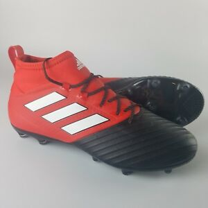 Details about Adidas Ace 17.2 Primemesh FG Soccer Cleats Men's Size 8.5 Red  Black White BB4342