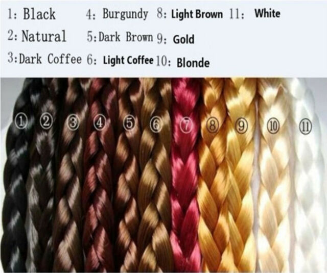 Fashion More Hot Colours New Women Braided Headband Plaited Hair Bands,11 Colors