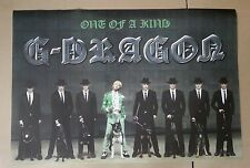 G-DRAGON /  One Of A Kind (First Mini Album) /OFFICIAL POSTER *HARD TUBE CASE*