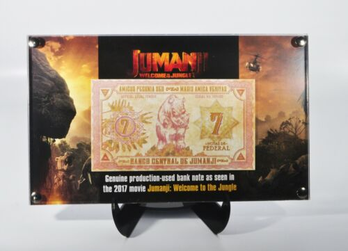 Jumanji Welcome to the Jungle Currency Production Used Prop Money Note