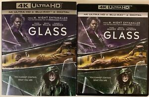 GLASS-4K-ULTRA-HD-BLU-RAY-2-DISC-SET-SLIPCOVER-SLEEVE-FREE-WORLD-WIDE-SHIPPING