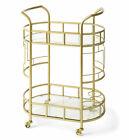 Better Homes & Gardens BH07-021-099-01 Fitzgerald 2-Tier Bar Cart - Gold