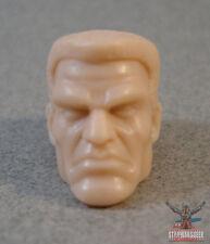 """ML099 Custom Cast Eddie Brock Venom head #2 use with 6"""" Marvel Legends Figures"""