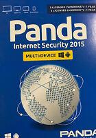 Panda Internet Security 2015 Multi Device 6 Uses