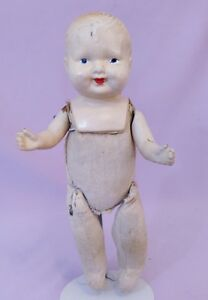 LOVELY-13-034-COMPOSITION-CHILD-DOLL-c1920