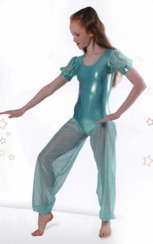 Per ordinare Principessa Jasmine Aqua metallico LIRICO Vestito Personaggio Costume Da Ballo