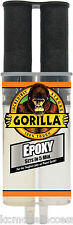 25ml Gorilla EPOXY GLUE Strong 2 Part Epoxy Adhesive Sets in 5 Minutes