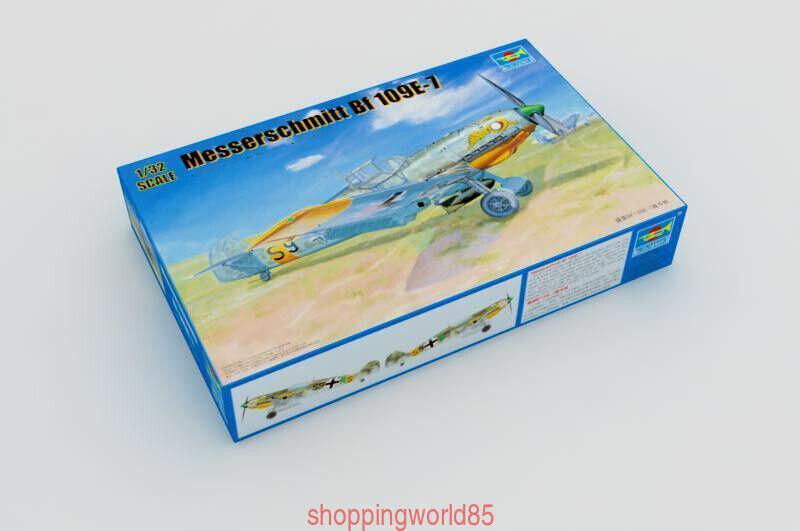 Trumpeter  02291 1 32 esserschmitt Bf109E-7