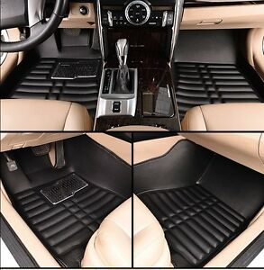 Car-Floor-Cover-Leather-Front-amp-Rear-Liner-Waterproof-Mat-For-2012-2016-Honda-CRV