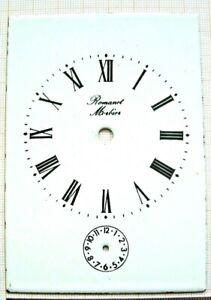 Cadran émail Dial Carriage Voyage Clock Pendule Officier Romanet Morbier Uhr 1 Luxuriant In Design