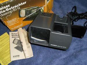 Kaiser-Dia-Betrachter-Diascop-50-N-2015-Slide-Viewer-German-Made