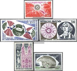 Frankreich-1886-1887-1890-1891-1892-kompl-Ausg-postfrisch-1974-Sondermarken