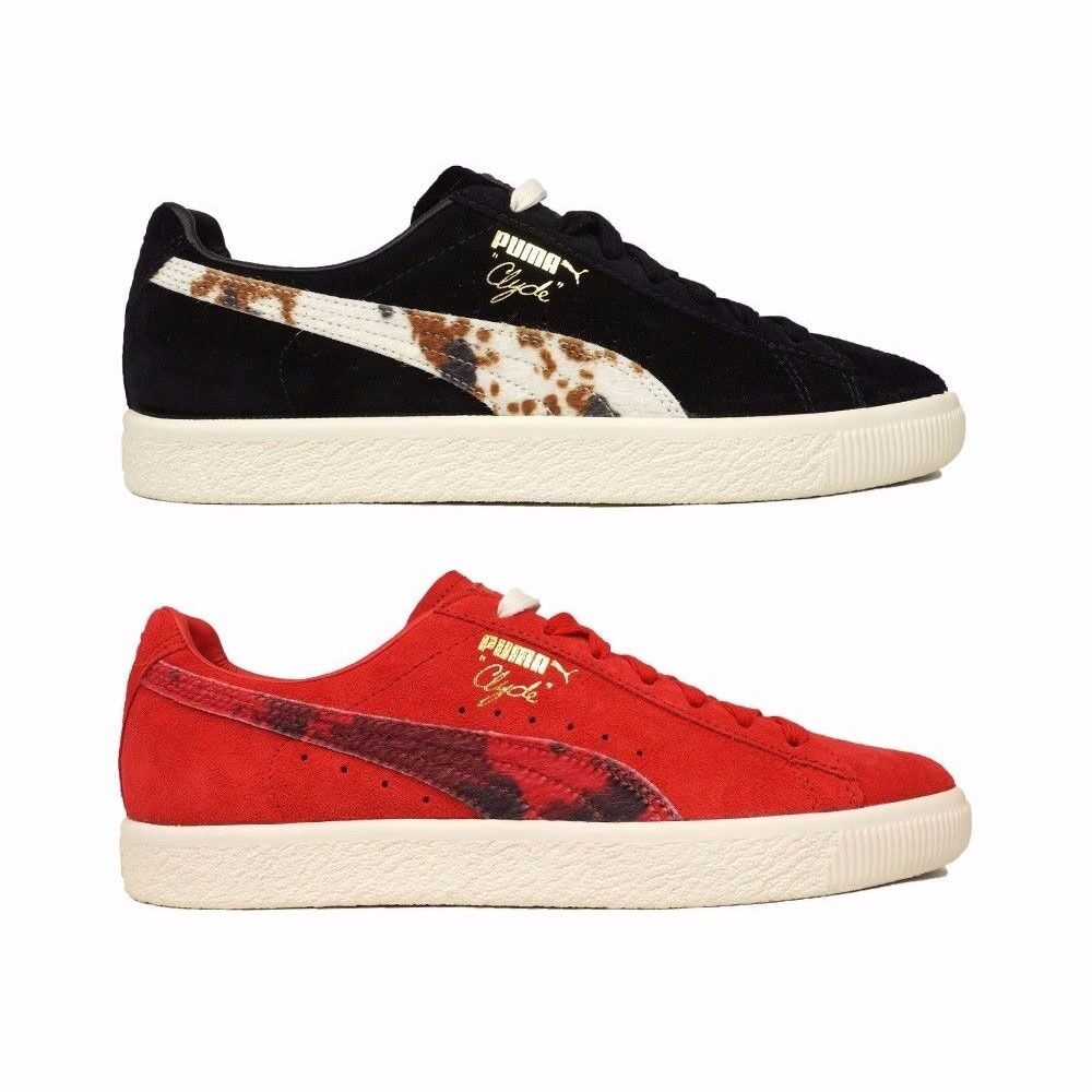 363507-01 Puma x Packer Shoes Black Risk Red