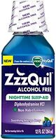 Zzzquil Nighttime Sleep-aid Alcohol Free 12 Oz on sale