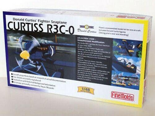 Fine Molds FG2 Curtiss R3C-0 Hydravion Porco Rosso 1:48 Kit Echelle Aks