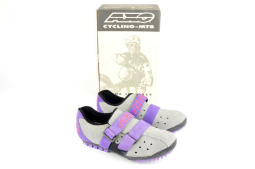 NEW AXO Scarpa MTB EKO Cycle shoes with cleats in size 42 NOS//NIB