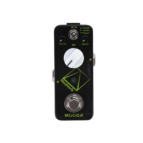 New Mooer ModVerb Modulation Reverb Guitar Effects Pedal Open Box