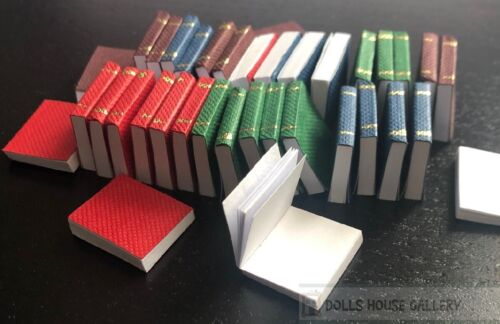 Casa De Muñecas 36 Libros, Literatura En Miniatura, Escala 1.12