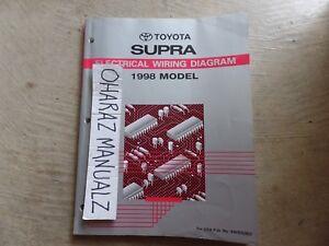 1997 TOYOTA Supra Wiring Diagram Manual OEM | eBay