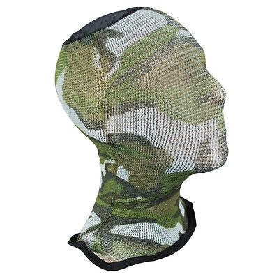Spandoflage Lightweight Army Military Airsoft Mesh Mask Balaclava Woodland Camo