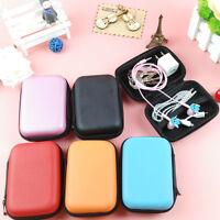 1Pc Big Hold Case Storage Hard Bag Box for Earphone Headphone Earbuds SD Card