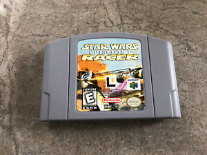 Star Wars Episode 1 Racer Nintendo 64 N64 Game Cart Authentic TESTED!