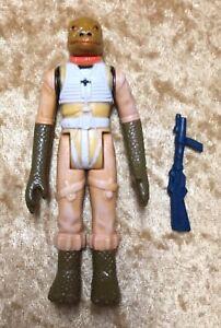 1980-STAR-WARS-Vintage-Bossk-Action-Figure-Hong-Kong-Bounty-Hunter-Complete