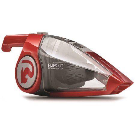 flipout cordless handheld vacuum cleaner 16 volt lithium powered washable filter for sale online. Black Bedroom Furniture Sets. Home Design Ideas