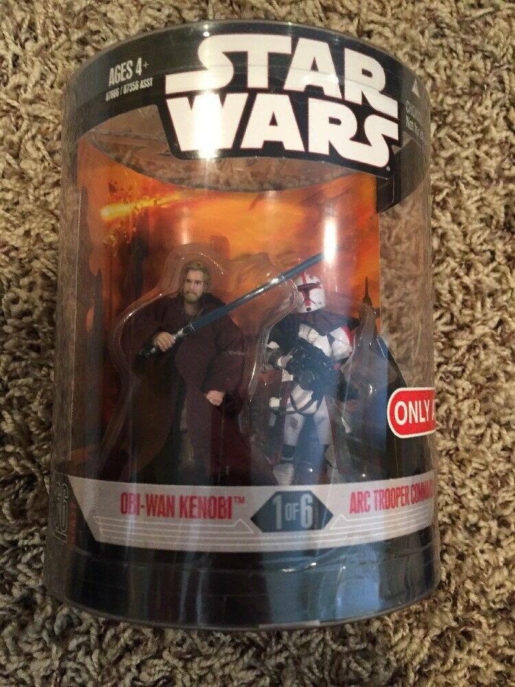 Star Wars Order 66 Series 2 Target Exclusive Obi-Wan And Arc Tropper Commander