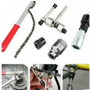 Bike Chain Whip Cassette Bottom Bracket Freewheel Wrench Repair Remover Tool