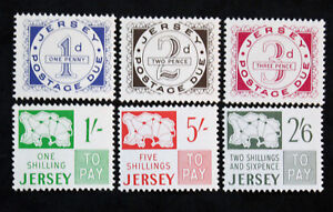 Stamp-JERSEY-Yvert-and-Tellier-Tax-n-1-a-6-n-HD-Cyn29-Stamp