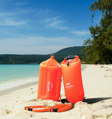 Naturehike Aufblasbarer 28L Schwimmboje Trockenbeutel Wasserdichte Strandtasche
