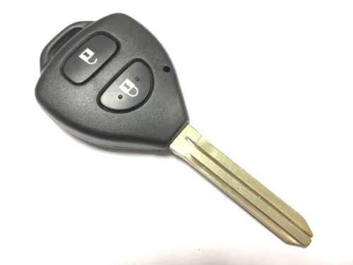 RFC reemplazo 2 Botón Carcasa Para Toyota Rav4 Hilux IQ 2005-2014 Remoto Clave