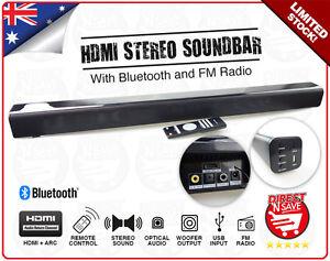 Soundbar-Wireless-Bluetooth-Speaker-FM-Radio-Audio-HDMI-ARC-Optical-SPK-SB160