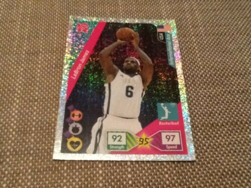 #279 LeBron James basketball USA Panini Adrenalyn XL London 2012 Olympics card