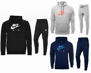 lovely design on feet at 2020 Details about Sale Mens Nike Jogging Fleece Hooded Tracksuit Top Joggers  Black Grey Navy S-XL