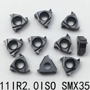 SUPER 10pcs 16ER 14W SMK01 CNC lathe Threading Turning   Carbide Inserts